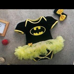 Batman Dc comic tutu dress romper halloween outfit